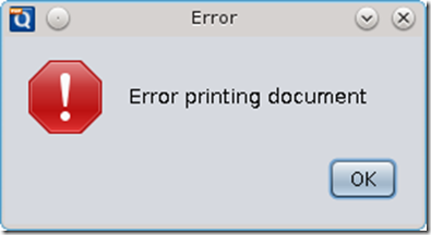 Error-Printing-Document