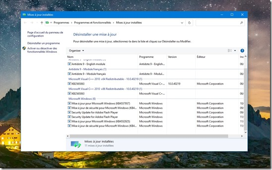 Windows-10-Desinstaller-mise-à-jour