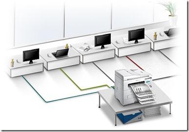 imprimante réseau